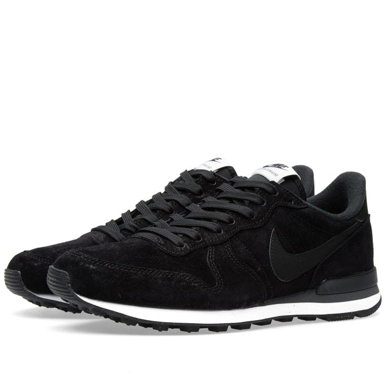 Nike Internationalist Leather Black Hyper Cobalt P52s5482