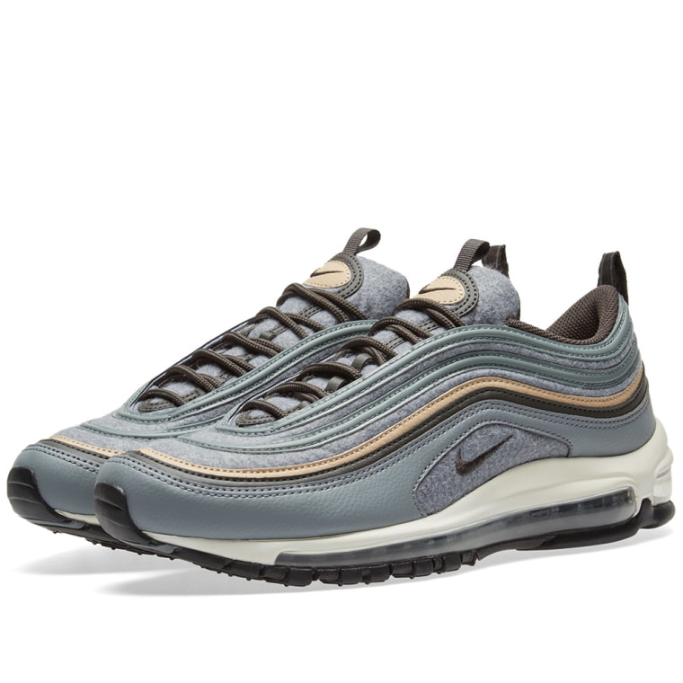 Nike Air Max 97 Premium Cool Grey  Deep Pewter 1