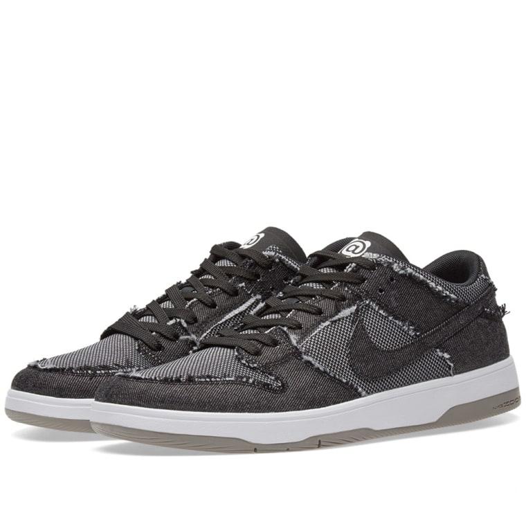 Nike SB Dunk Elite Low x Medicom Men's Lifestyle Shoes Black/White/Grey dT7612K