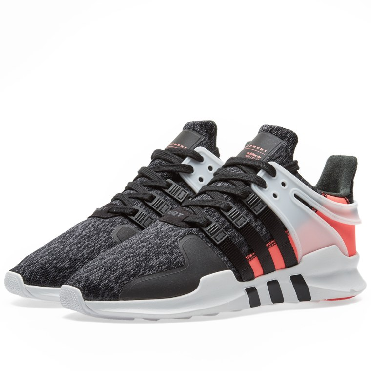 adidas eqt support adv 91 16 core black turbo end. Black Bedroom Furniture Sets. Home Design Ideas