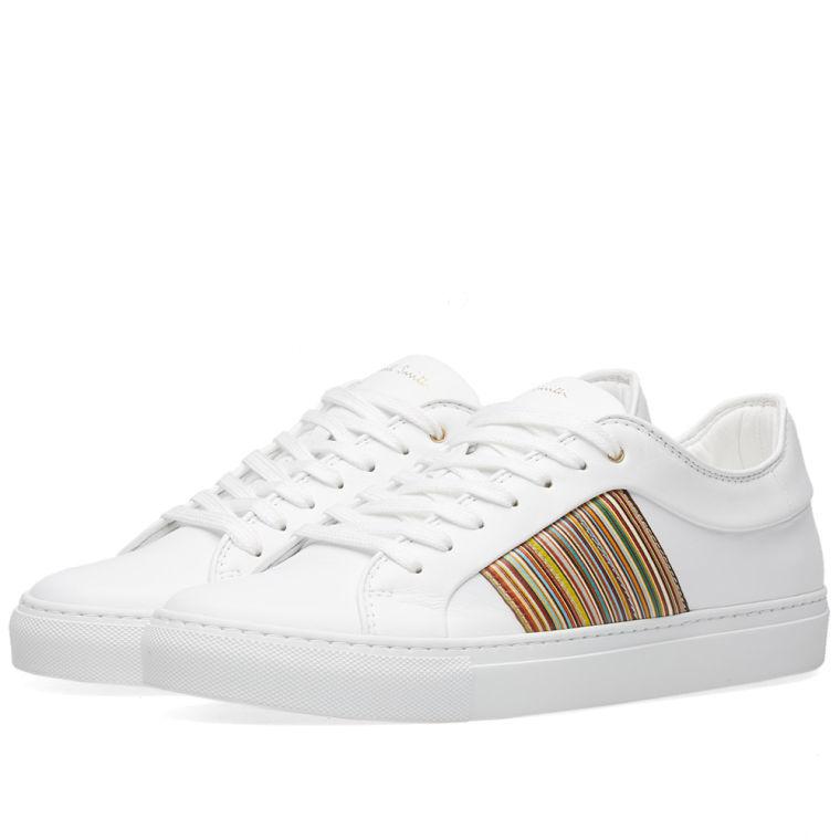STRIPE WEBBING - Sneaker low - white
