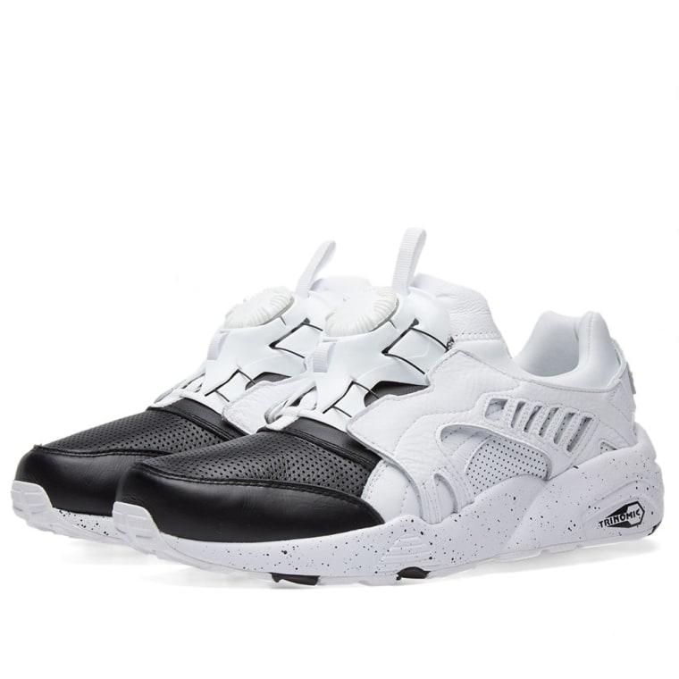 2018 Cheap Mens Puma Disc Blaze Trainers Shoes Black