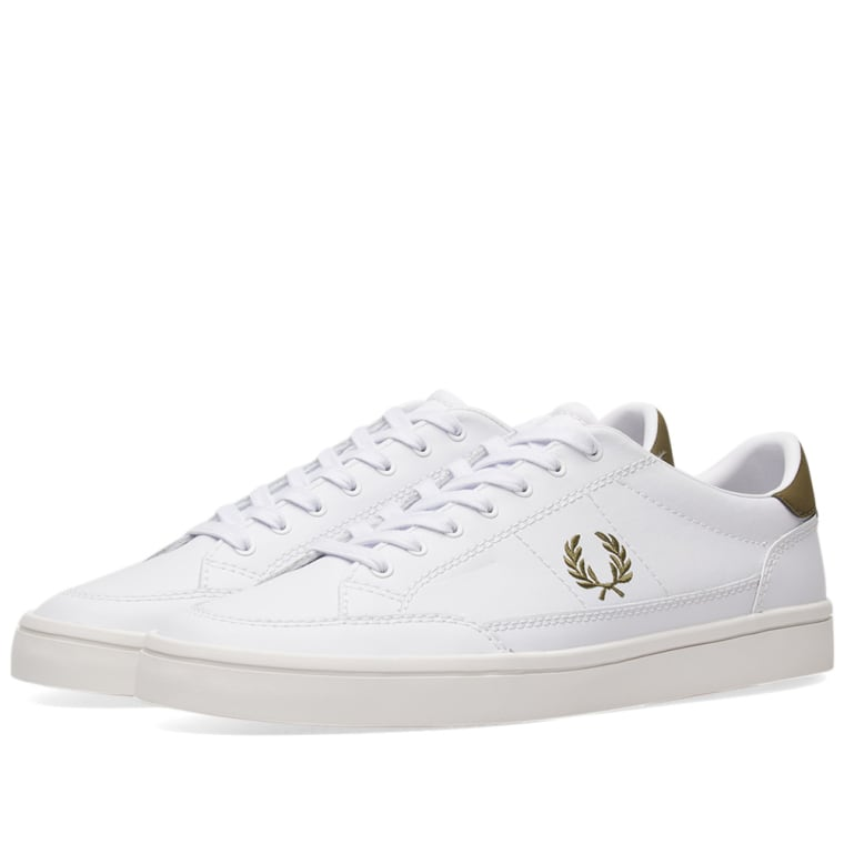 Fred Perry Canvas Shoes White EU 43 / UK 9 / US 10