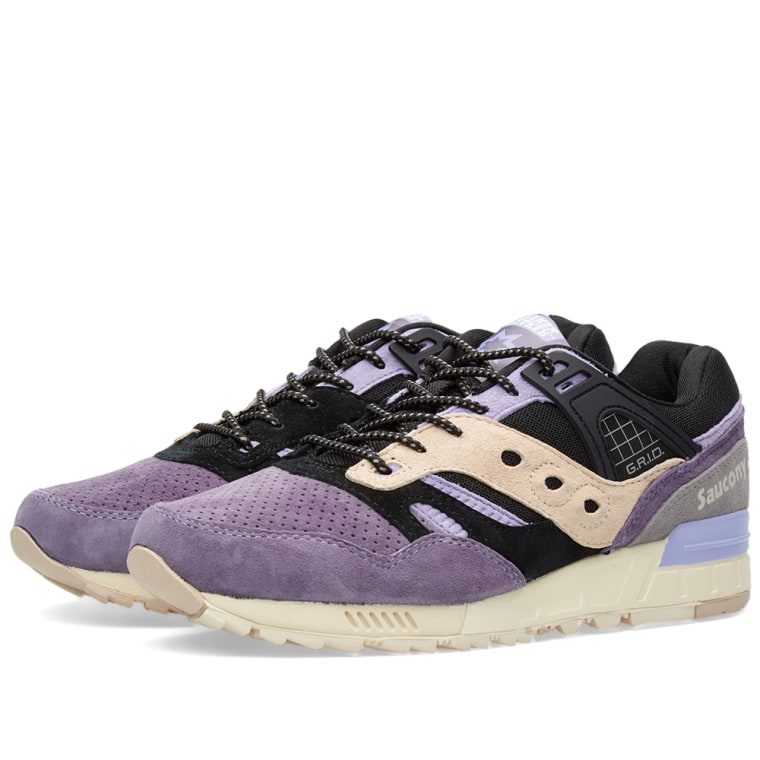 black and purple saucony