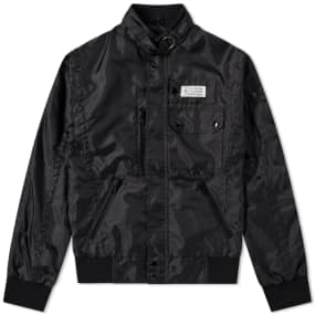 Maison Margiela 14 Nylon Logo Sports Jacket