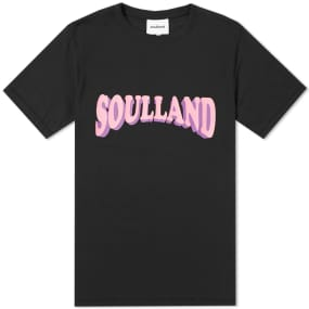 Soulland Guido Logo Tee by Soulland