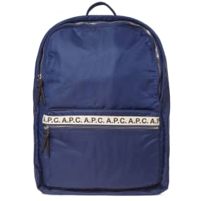 A.P.C. Sally Tape Logo Backpack