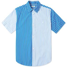 Kenzo Short Sleeve Multi Stripe Shirt