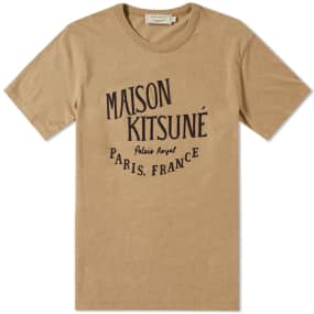 Maison Kitsuné Palais Royal Tee by End.