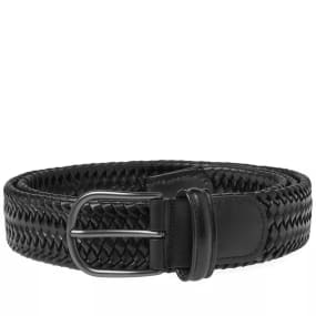 Anderson's Stretch Woven Leather Belt