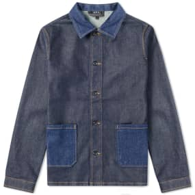 A.P.C. Mathis Denim Chore Jacket