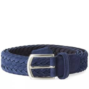 Anderson's Woven Suede Belt