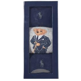 Polo Ralph Lauren Assorted Bear Sock   3 Pack by Polo Ralph Lauren