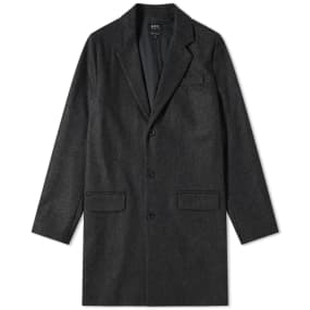 A.P.C. Majordome Wool Chesterfield Coat by A.P.C.