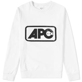 A.P.C. U.S. Vince Logo Sweat