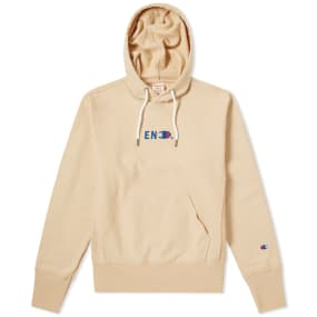End. X Champion Reverse Weave Terry Hoody by Champion Reverse Weave