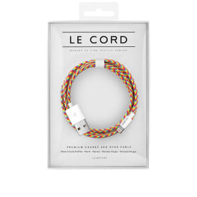 Le Cord Rainbow 1.2m Lightning Cable
