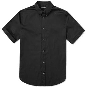 Alexander McQueen Short Sleeve Cuffed Shirt