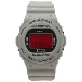 Casio G Shock X Sneaker Freaker X Stance Dw 5700 Sf 1 Er Redback Watch by End.