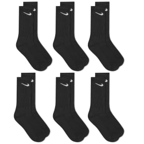 Nike Cotton Cushion Crew Sock   6 Pack by End.