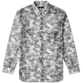 Comme des Garcons Homme Plus Mesh Camo Printed Shirt