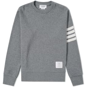 Thom Browne Cashmere Crew Knit by End.