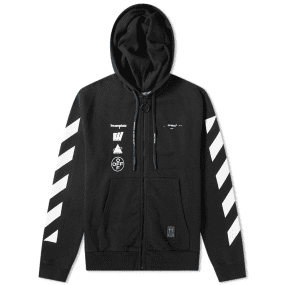Off-White Mariana De Silva Painting Zip Hoody