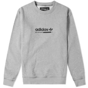 Adidas Kaval Crew Sweat by Adidas
