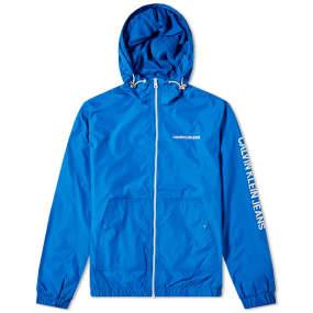 Calvin Klein Nylon Zip Up Jacket by End.