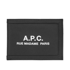 A.P.C. Recuperation Nylon Logo Wallet