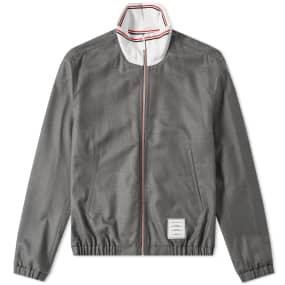 Thom Browne Funnel Neck Track Jacket
