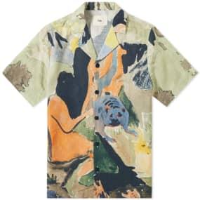 Folk Printed Vacation Shirt
