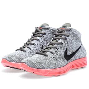 a8c157851c867 Nike Lunar FlyKnit Chukka (Tarp Green   Total Crimson)