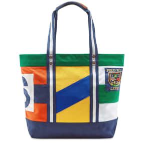 Polo Ralph Lauren Flag Patchwork Shopper Tote