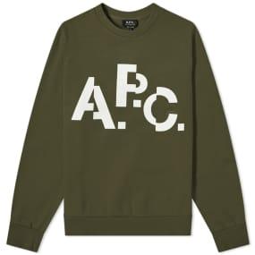 A.P.C. Decal Crew Sweat