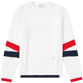 Thom Browne Articulated Crew Sweat by End.
