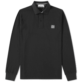 Stone Island Long Sleeve Regular Fit Polo