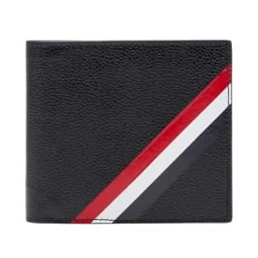 Thom Browne Diagonal Stripe Card Billfold Wallet