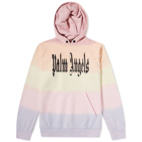 Palm Angels Gothic Rainbow Hoody by Palm Angels