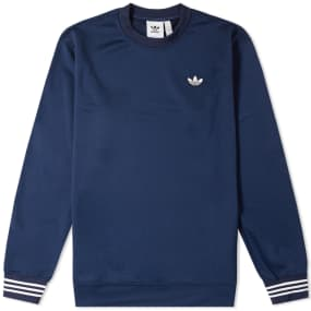 Adidas Pique Crew Sweat by End.