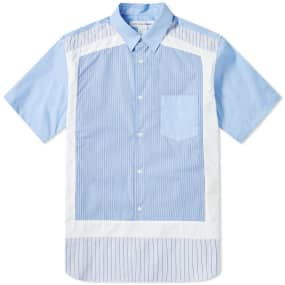Comme des Garcons SHIRT Short Sleeve Cut & Sew Shirt