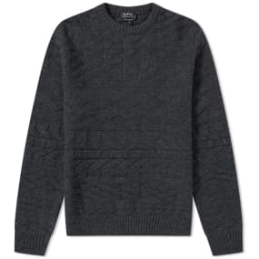 A.P.C. Friend Textured Crew Knit