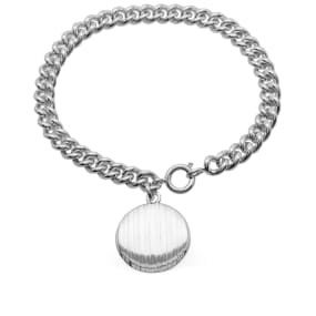 A.P.C. Stripe Pendant Bracelet by End.