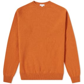 Sunspel Lambswool Crew Knit