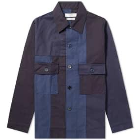 Fdmtl Patchwork Shirt Jacket by End.