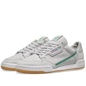 Adidas x TFL Continental 80 (Grey & Gum) | END.