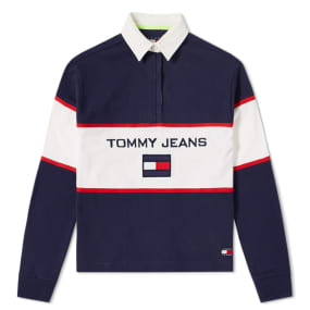 Tommy Jeans 5.0 Women's 90s Blocked Rugby Shirt by Tommy Jeans