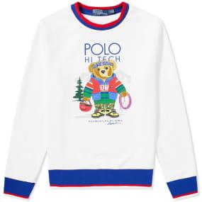 Polo Ralph Lauren Hi Tec Bear Crew Sweat by Polo Ralph Lauren