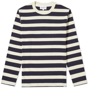 Norse Projects Long Sleeve Johannes Rugby Stripe Tee