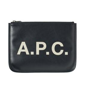 A.P.C. Morgan Logo Pouch